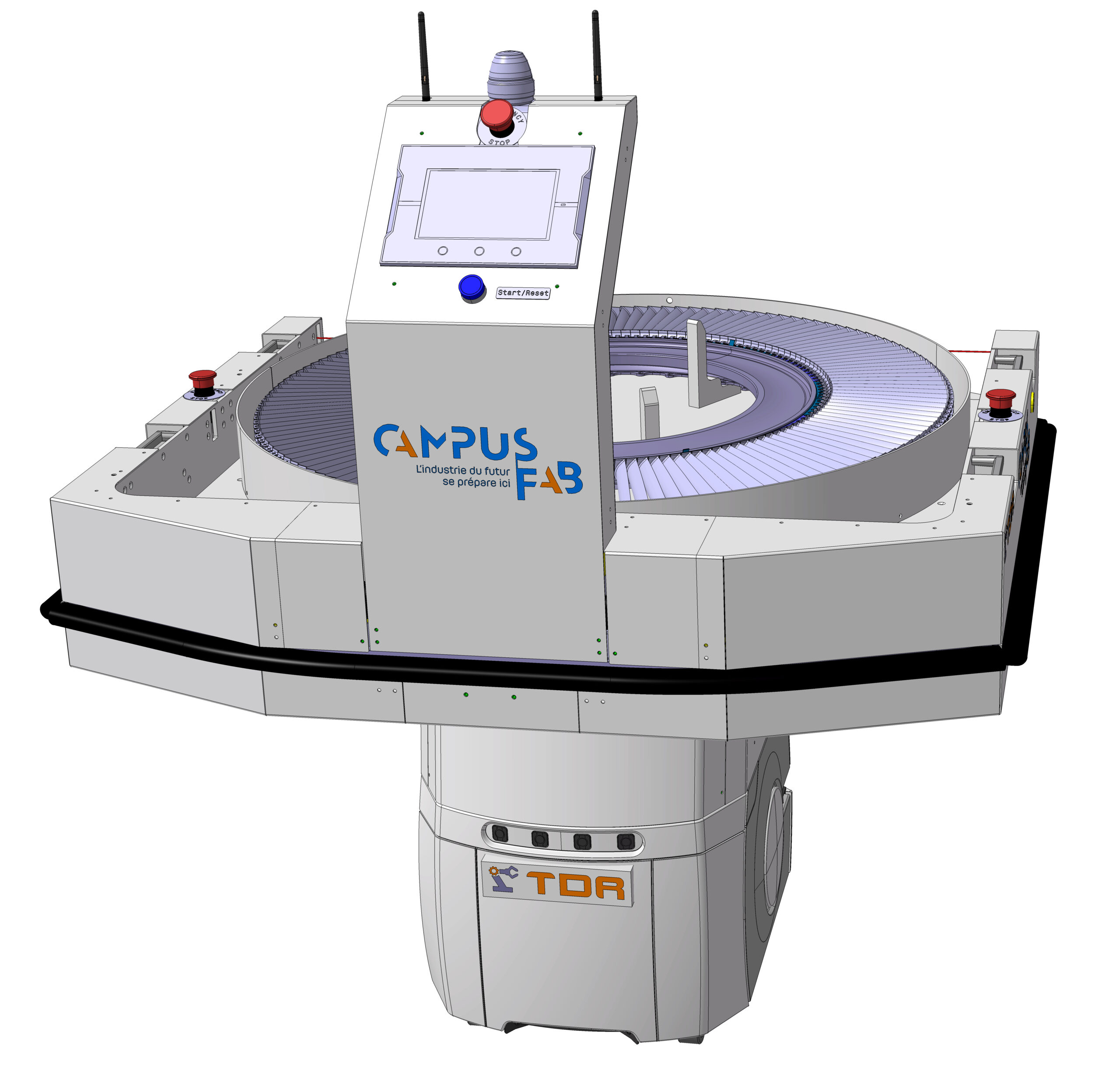 02 Realisation innovation robotique AIV