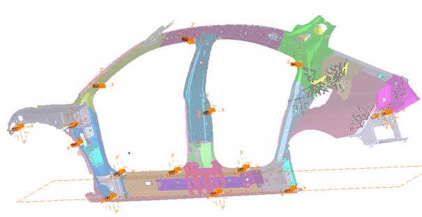 Conception de l'outillage de contrôle d'une voiture